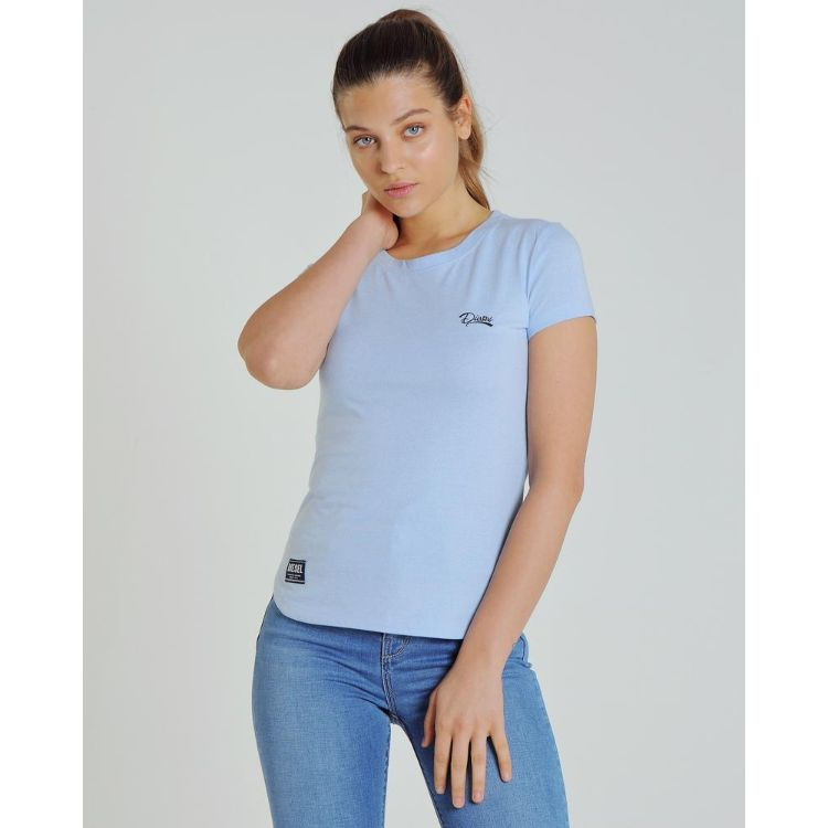 Diesl Basic Women Tee Light Blue