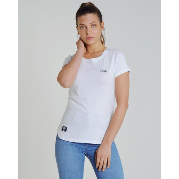 Diesl Basic Women Tee White
