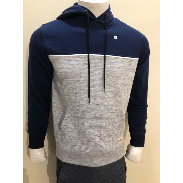 E.A.S.Y W.E.A.R Color Block Navy Hoodie