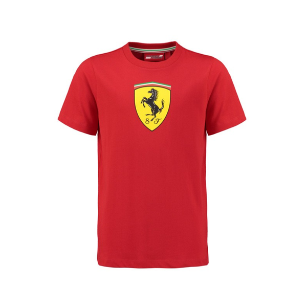 Frrari Large Logo T-Shirt Red