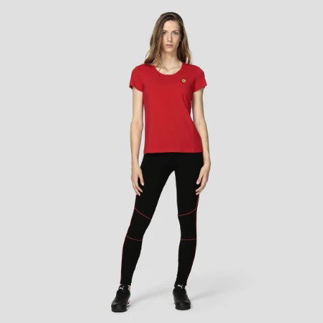 Ferrari women red tshirt