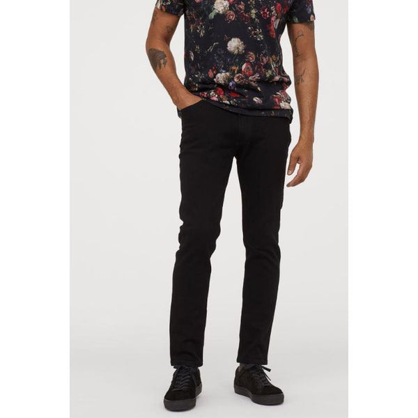 HM Jet Black Slim Fit Jeans