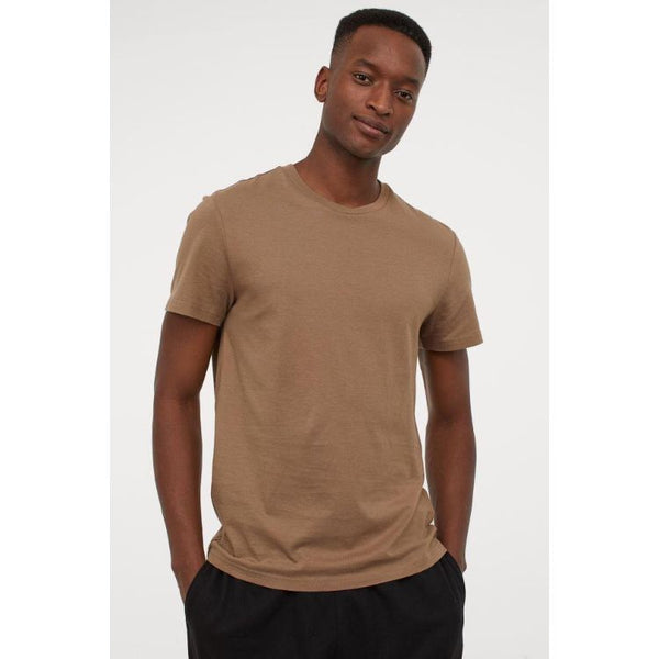 HM Basic Tee Brown