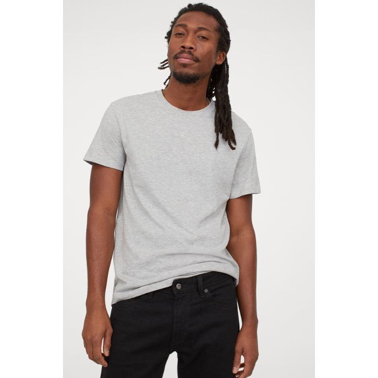 HM Basic Tee Light Grey