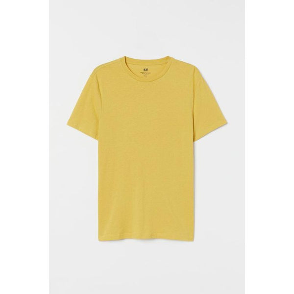 HM Basic Tee Yellow