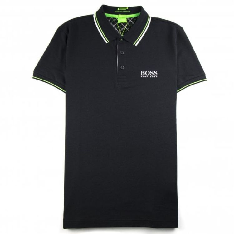 HB Tipping Polo Shirt Black