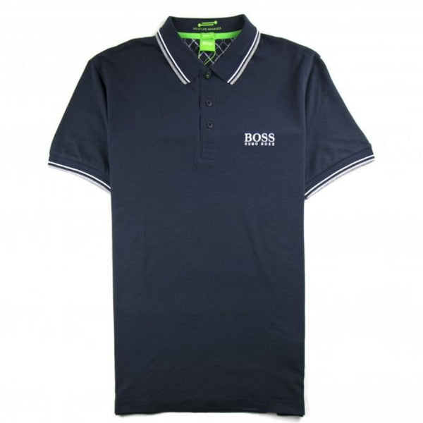 HB Tipping Polo Shirt Navy