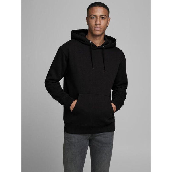 J.A.C.K and J.O.N.E.S Basic Hoodie Black