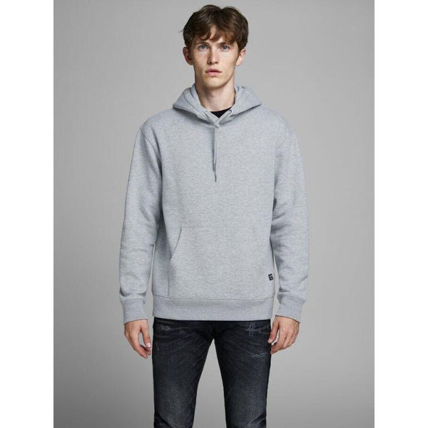 J.A.C.K and J.O.N.E.S Basic Hoodie Light Grey