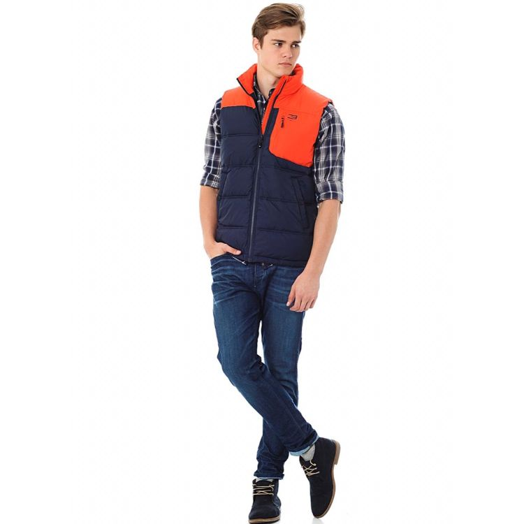 J.A.C.K and J.O.N.E.S Sleeveless Puffer Gilet
