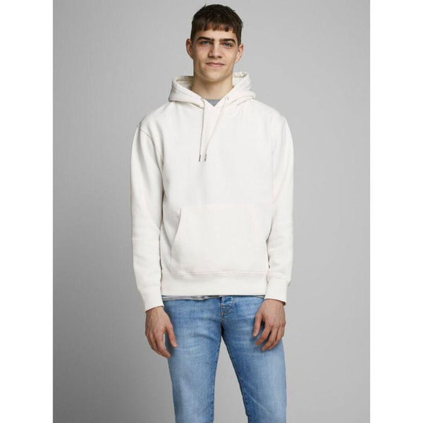 J.A.C.K and J.O.N.E.S Basic Hoodie White