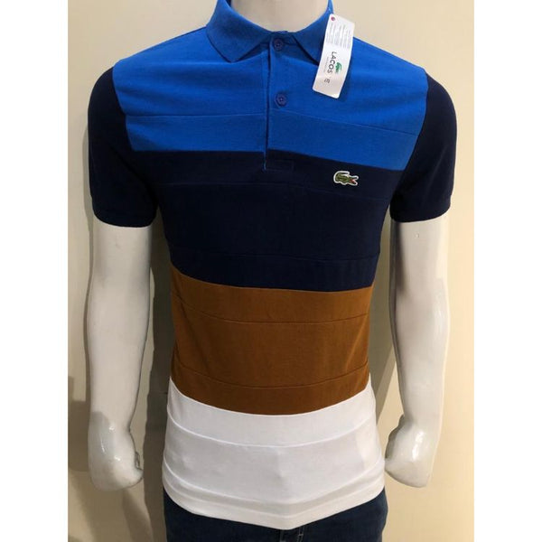 Lcoste Regular Fit Colourblock Cotton Piqué Polo