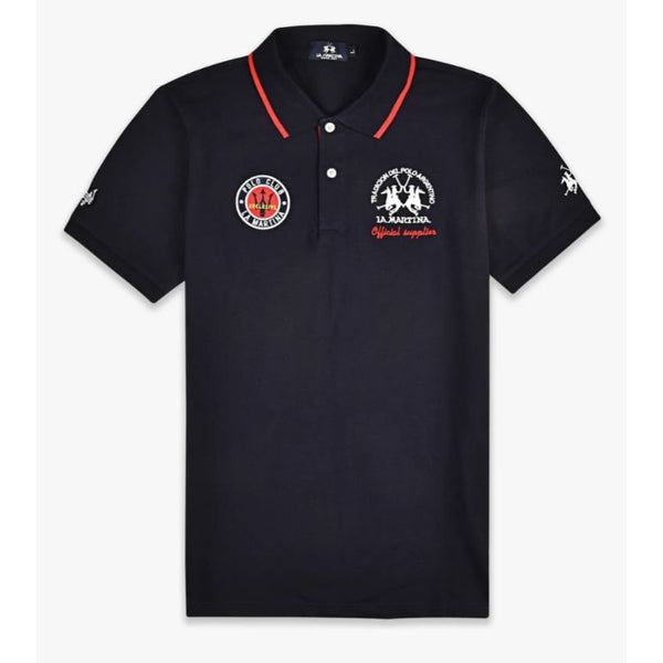 La Matina Double Pony Polo Navy