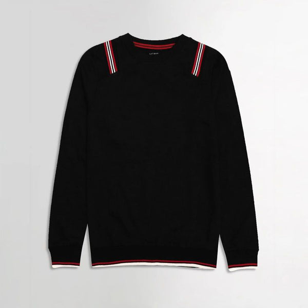Lft Contrasting Red and Black Sweatshirt