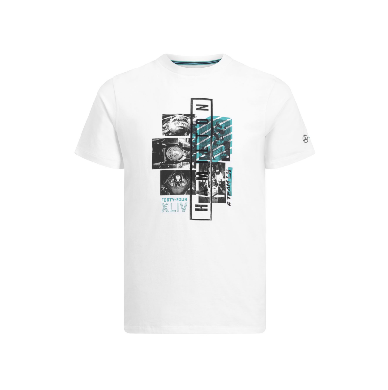 Mcedes-AMG Ptronas Motorsport 2019 Graphic T-Shirt White