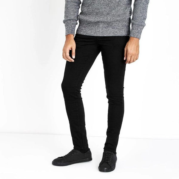 New Lk Jet Black Skinny Jeans