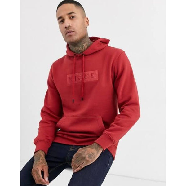 N.I.C.C.E Crate Embroidered Hoodie Red