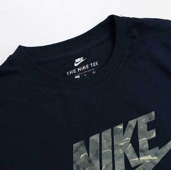 Black Crew Neck Nike T-shirt