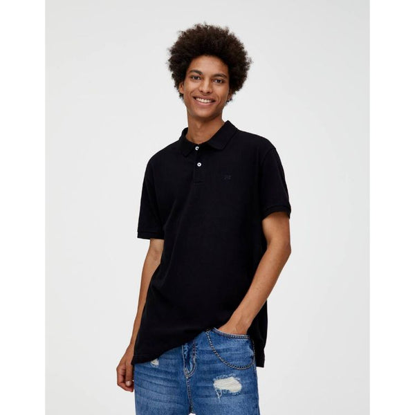 P&B Basic Polo Shirt Black