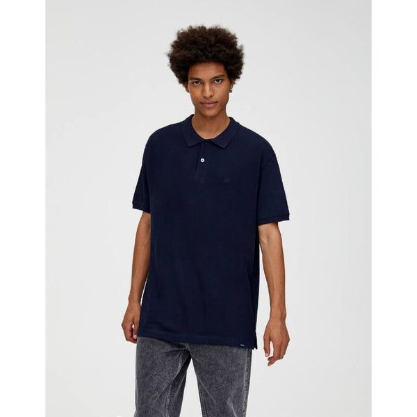 P&B Basic Polo Shirt Navy