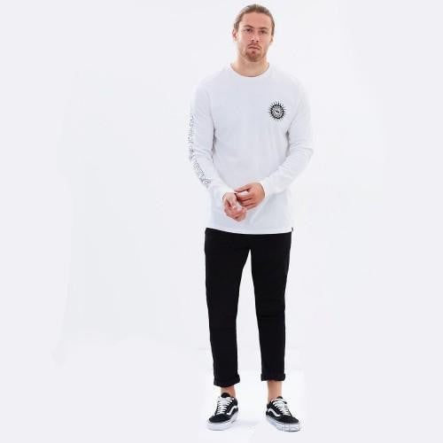Quicksilver Full Sleeve Graphic T-Shirt