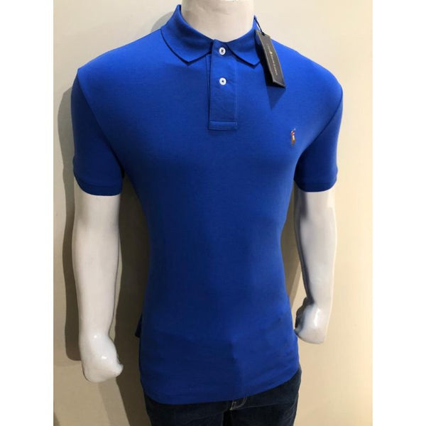 RL Small Pony Polo Shirt Blue