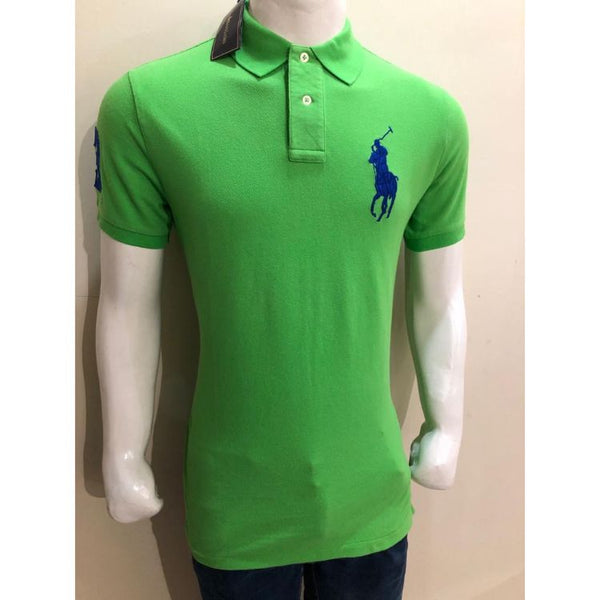 RL Big Blue Pony Polo Shirt Green