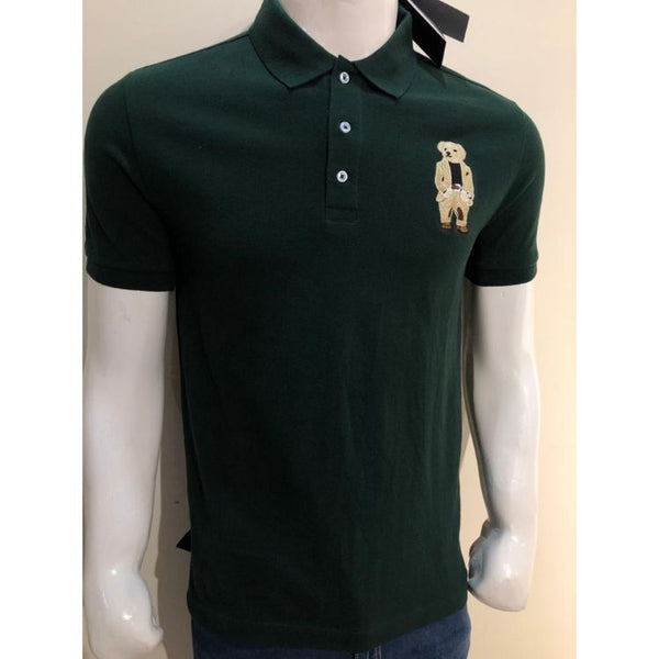RL Dark Green Bear Polo Shirt