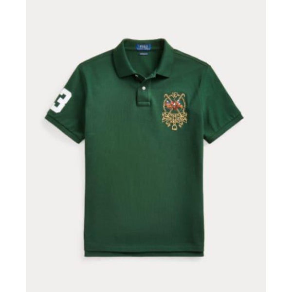 RL Tripple Pony Green Polo Shirt