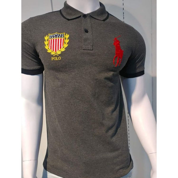 RL Big Red Pony Polo Grey