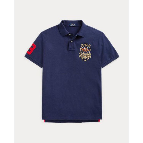 RL Tripple Pony Navy Polo Shirt