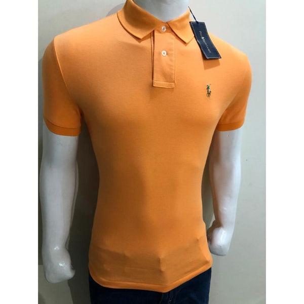 RL Small Pony Polo Shirt Orange