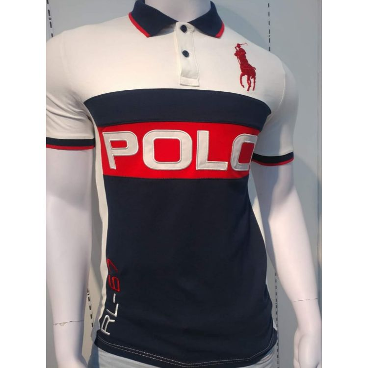 RL Big Pony Triple Panel Polo Navy
