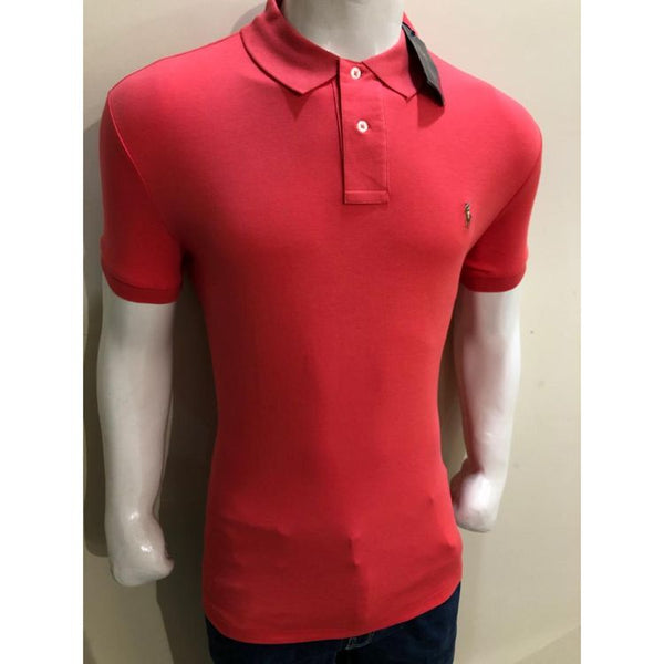 RL Small Pony Polo Shirt Pink