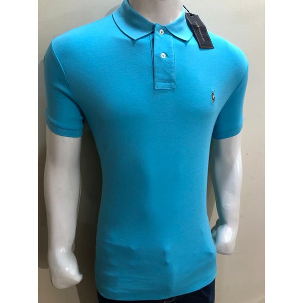 RL Small Pony Polo Shirt Sky Blue