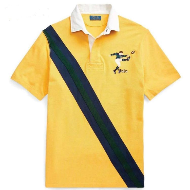 RL Kicker Bear Yellow Polo Shirt