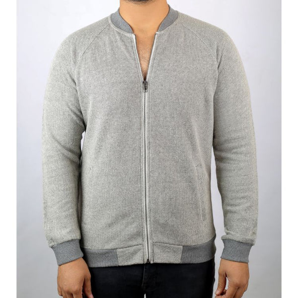Sf Grey Zip Up Sweatshirt
