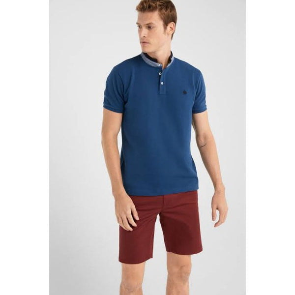 SF Mao Polo Shirt Blue