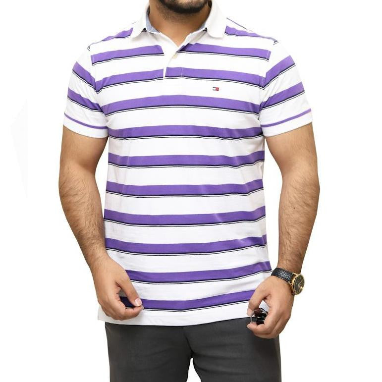 TH Striped Polo Shirt