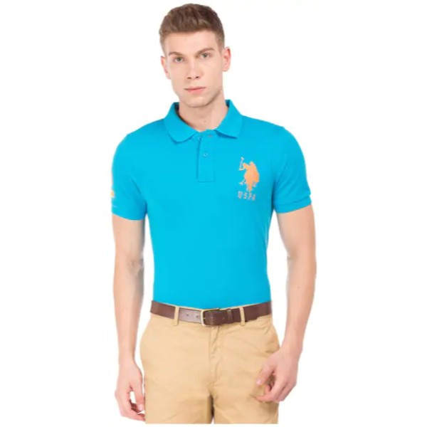 Us Polo Assn Indigo Polo Shirt
