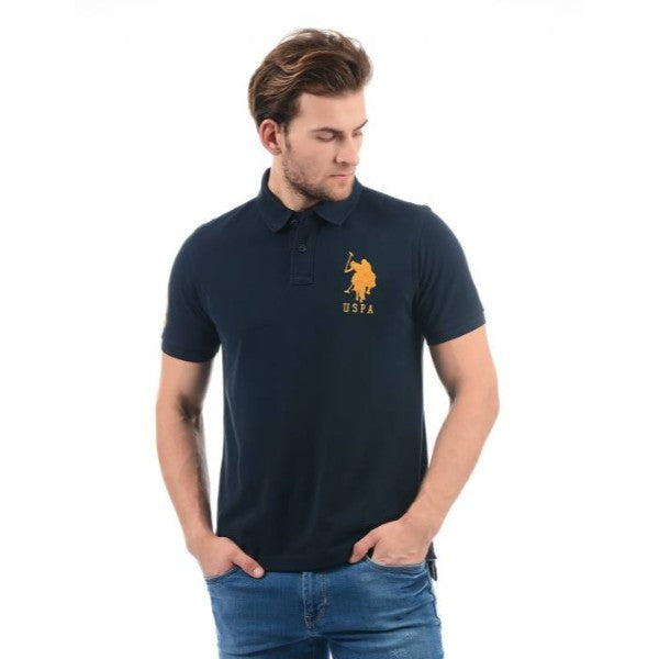 Us Polo Assn Navy Blue Polo Shirt