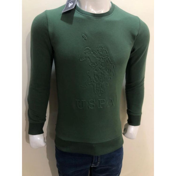U.S P.O.L.O Embroidered Sweatshirt Green