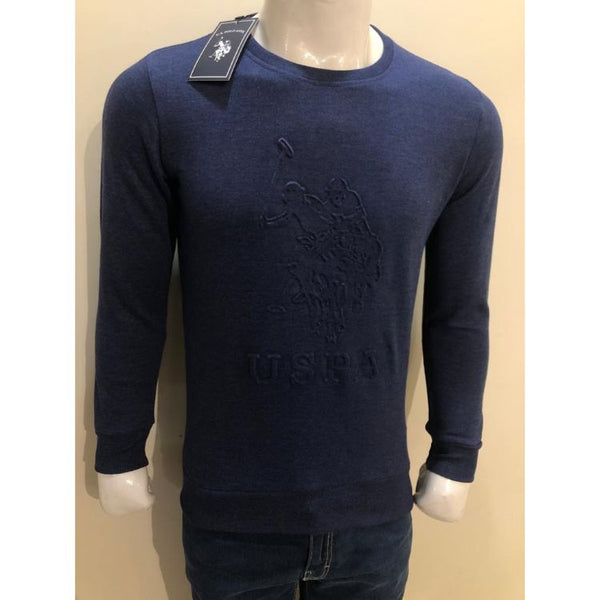 U.S P.O.L.O Embroidered Sweatshirt Navy