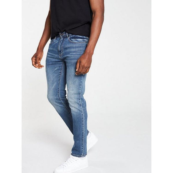 Vry Slim Fit Blue Jeans