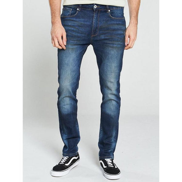 Very Dark Blue Slim Fit Jeans