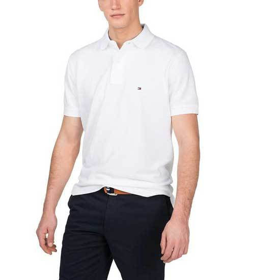 White TH Polo T-Shirt