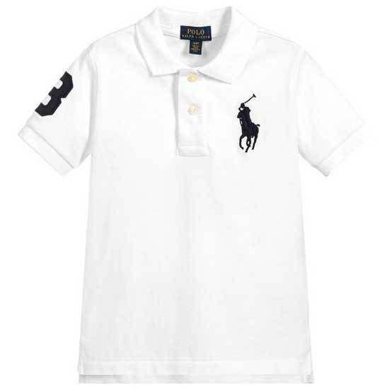 Big Pony White Ralph Lauren Polo Shirt