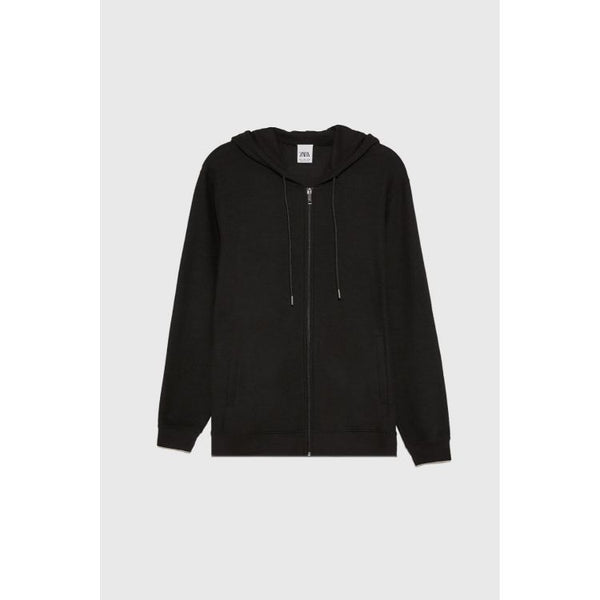 ZR Zip Up Hoodie Black