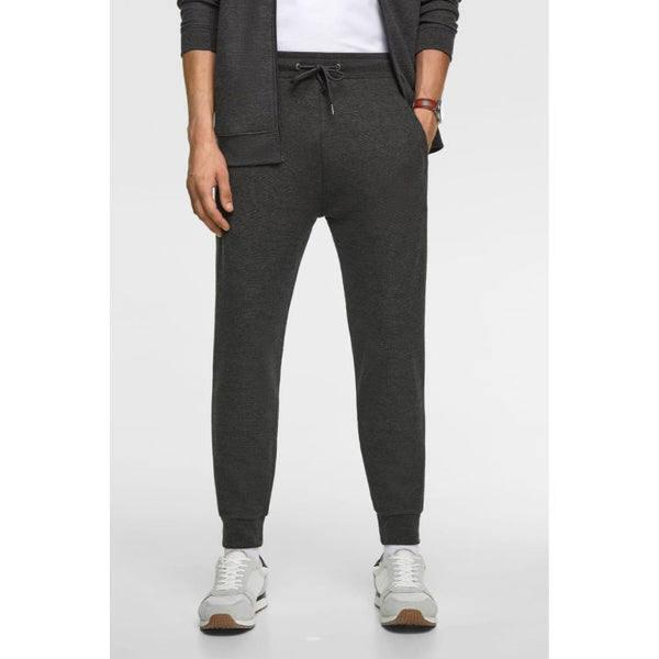 ZR Plain Jogger Pants Charcoal
