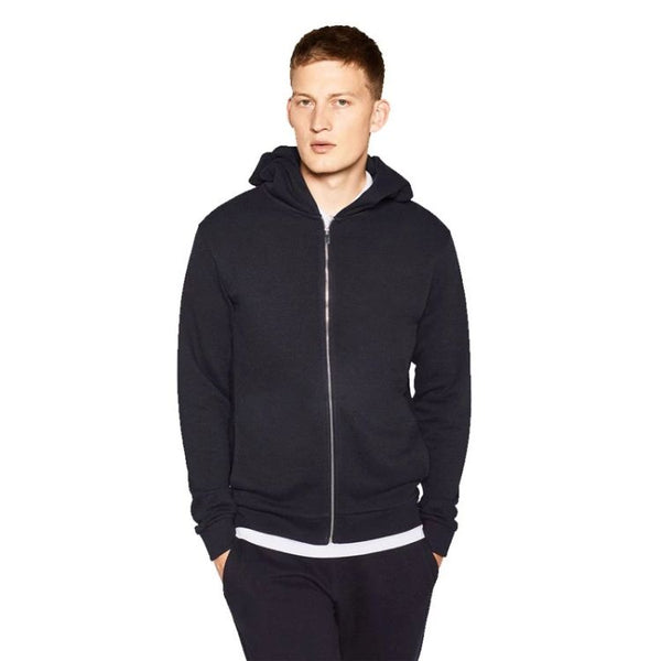 ZR Navy Zip-up Hoodie